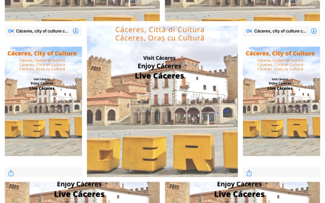 WE INVITE YOU TO VISIT CACERES!