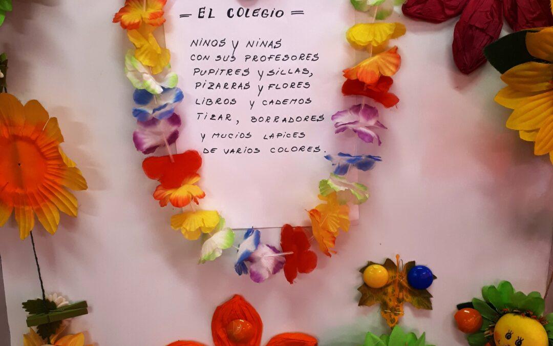 """""""La Grădiniță""""/""""El Colegio""""/""""La Scuola""""/""""At School""""- Poem learned in Spanish language"""