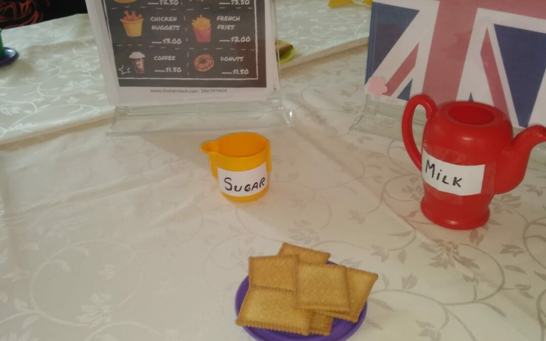 The English Cafe – Role play